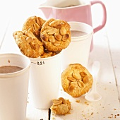 Savoury peanut cookies