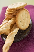 Crackers and breadsticks