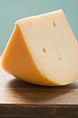 Piece of Gouda cheese