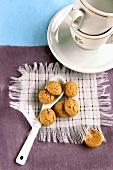 Amarettini di Saronno (Almond biscuits, Italy)