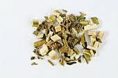 Dried Chinese motherwort (Yi Mu Cao)