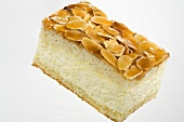 Bienenstich ('Bee sting cake') with flaked almonds