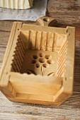 Holzmodel für Butter