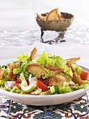 Fattoush (bread salad from Arabia)