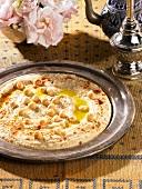 Hummus (chickpea purée)