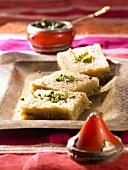 Knafeh (Oriental sweetmeat)