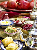 Mezze (appetisers from Arabia)