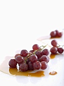 Grapes with vino cotto