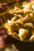 Briouats (fried pastry parcels from Morocco)