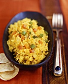Pullao (Rice dish with vegetables, India)