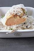 Foie gras with Guérande sea salt