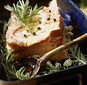Arista alla reggiana (Roast pork with rosemary, Italy)
