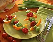 Gemüsespiesse