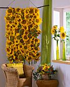 Sonnenblumenteppich