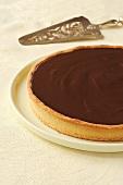 A tarte au chocolat