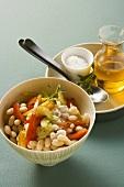 Lima bean salad