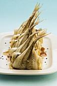 Garfish rolls