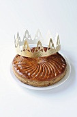 Galette des Rois (Three kings cake for Epiphany, France)