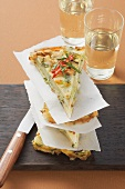 Potato and cabbage tortilla