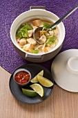Kokoscurry mit Tofu