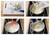 Making cheese sauce