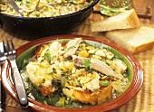 Caldereta de peix (Majorcan-style fish soup)