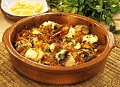Tuna with tomatoes (Majorca)