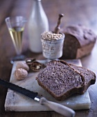 Wholemeal bread with walnuts and olive oil