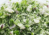 Frozen herbs (close-up)