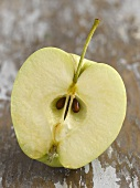 Half an apple (Golden Delicious)