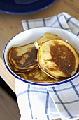 Drop scones (also known as Scotch pancakes)