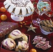 Swedish Christmas cake buffet