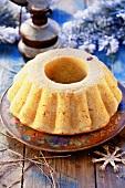 Yeast cake with saffron (Poland)