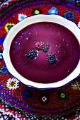 Blackberry soup