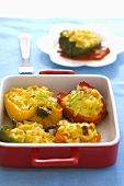 Peppers stuffed with rice and sheep's cheese, Bulgaria