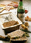 Wild boar terrine with Rioja