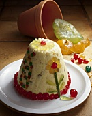 Paskha (Easter cake with candied fruit, Russia)