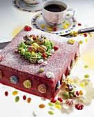 Blueberry cake for Easter