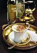Café Marasca (Mocha with Maraschino and rum)
