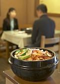 Kimchi stew (Korean cabbage dish)