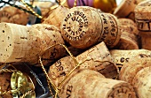 Prosecco corks and wire closures