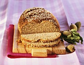 Almond and sesame bread