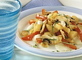 Pan-fried potato dish