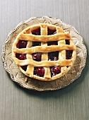 Cherry lattice tart