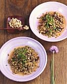 Lentils with prunes