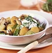 Kartoffel-Pilz-Gulasch