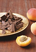 Chocolate and apricots