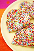 Fairy bread (Bread and butter with hundreds and thousands)