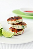 Fish cakes with lime (Thailand)