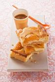 Aprikosen-Quark-Blechkuchen